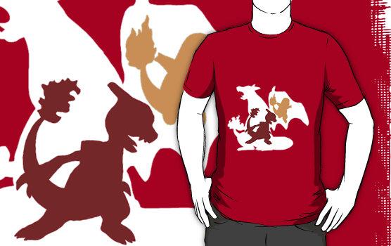 e3ad3a6f Pokemon - Charmander shirt by Mr-Saxon on DeviantArt
