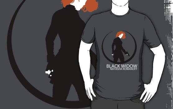 The Avengers Black Widow Shirt By Mr Saxon On Deviantart