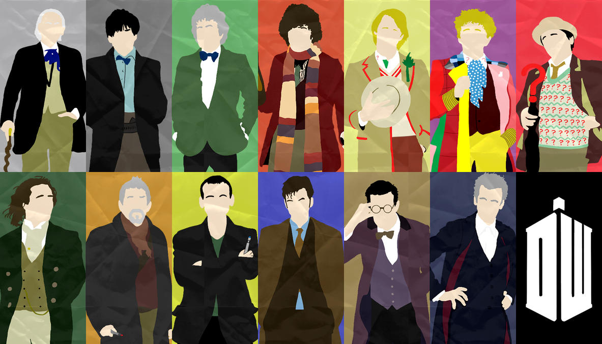 The 13 Doctors by Mr-Saxon