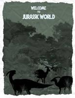 Discover Parasaurolophus at Jurassic World by Mr-Saxon