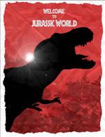 Discover the Tyrannosaurus Rex at Jurassic World by Mr-Saxon