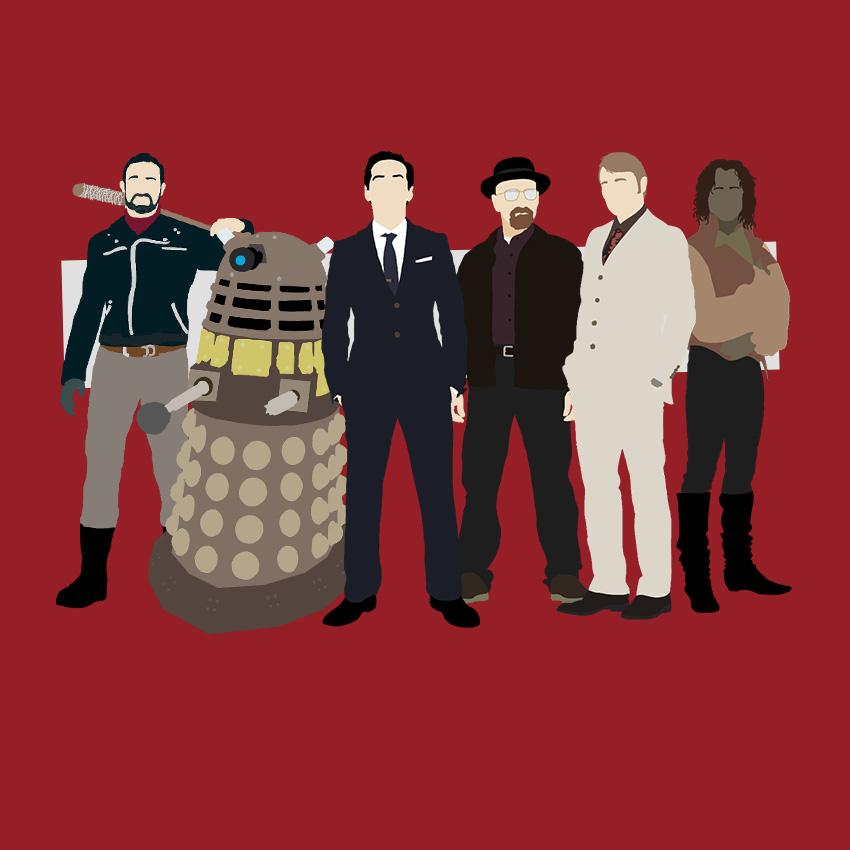 The TV Villains by Mr-Saxon