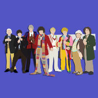 The Classic Doctors by Mr-Saxon