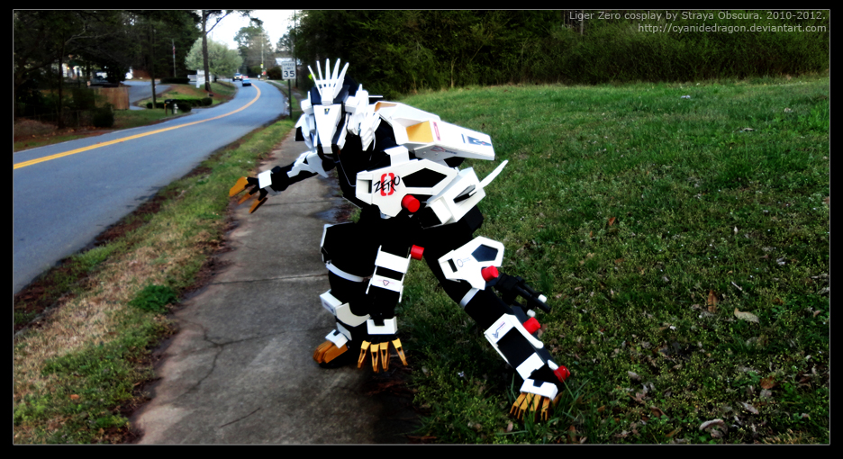 Liger Zero 2012_1 by StrayaObscura