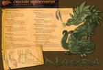 Battle Chasers: Nightwar Creature Design - Nagra