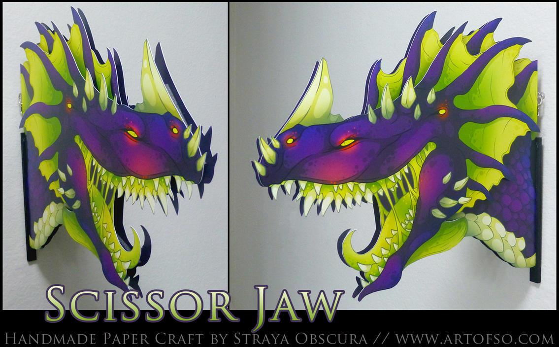 Scissor Jaw by StrayaObscura