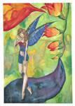 Hummingbird Fairy by chupacabra-itt