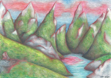 Red mountains by chupacabra-itt