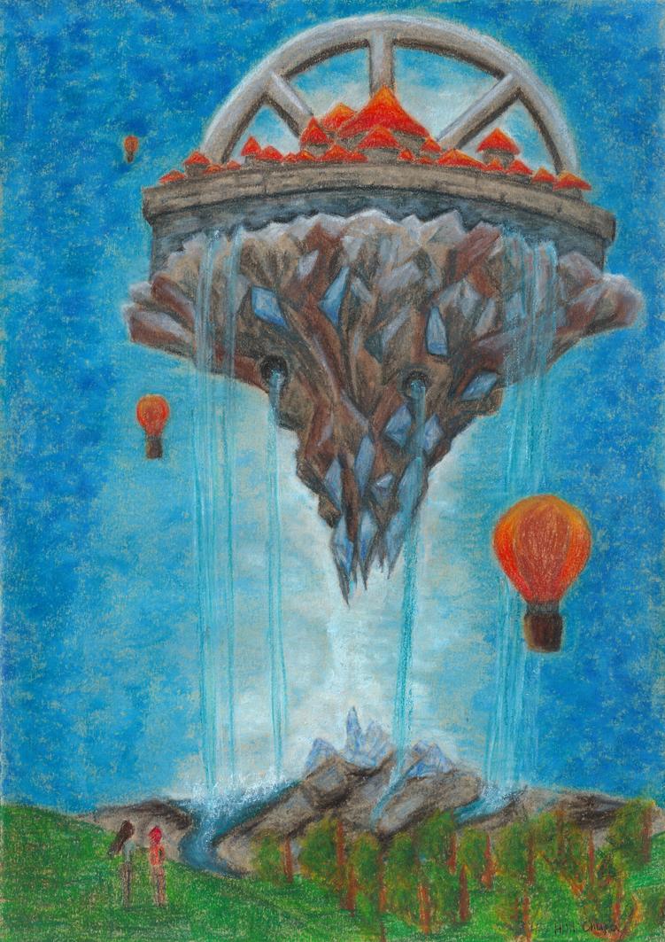 Flying city by chupacabra-itt