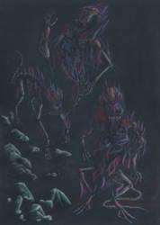 Dark creatures by chupacabra-itt