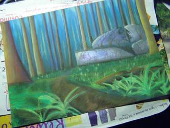 Work in progress -  ruins of the first by chupacabra-itt