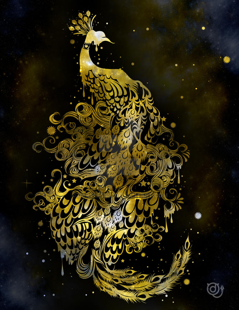 Cosmic Peacock by darylferil