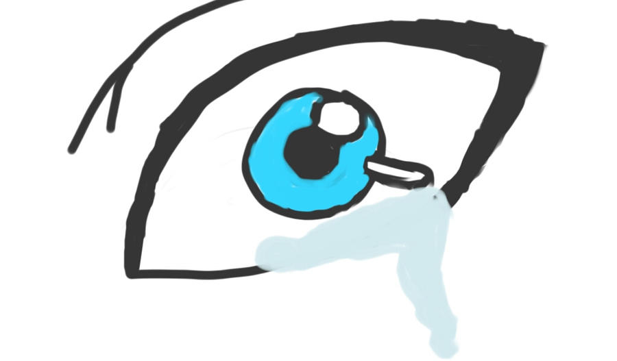 Eye - Trying to Redraw Sister's Drawings by JC4104312