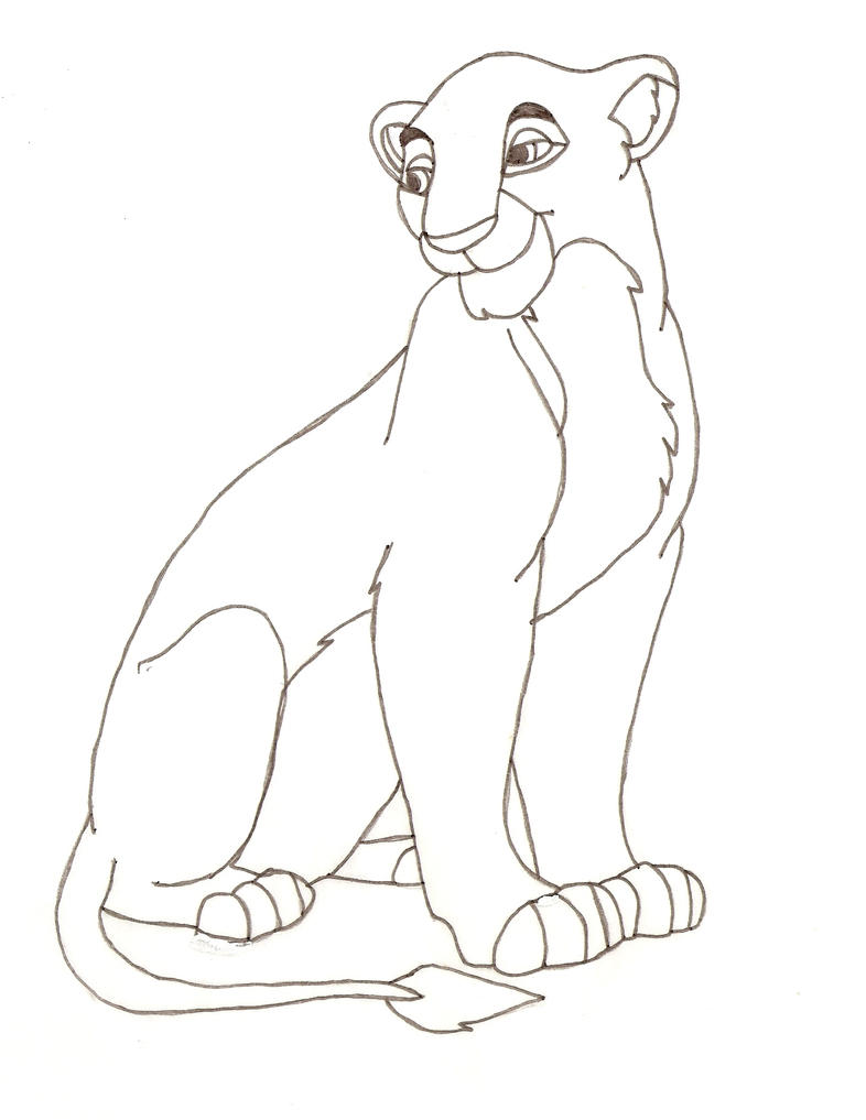 the lion king sarabi coloring pages
