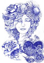 Weeds In Her Heart  Flowers In Her Soul