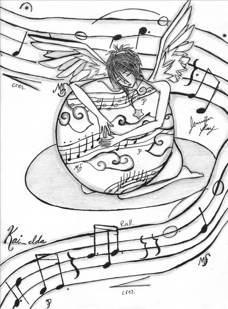 Music my Angel Music by jckandi