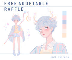 FREE ADOPTABLE RAFFLE !! | OPEN | by mellowteru