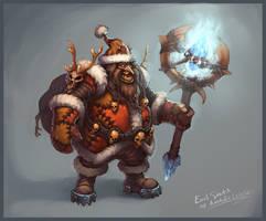 Evil Santa by KhezuG