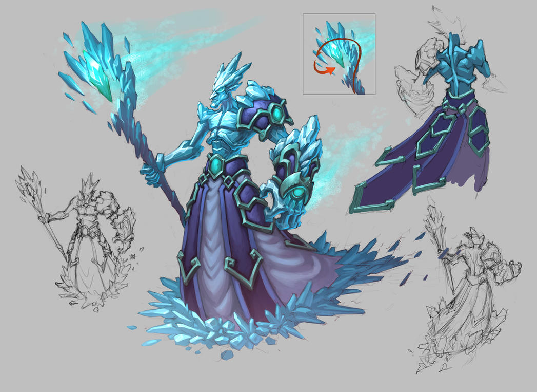 Ice Mage by KhezuGIce Mage Anime