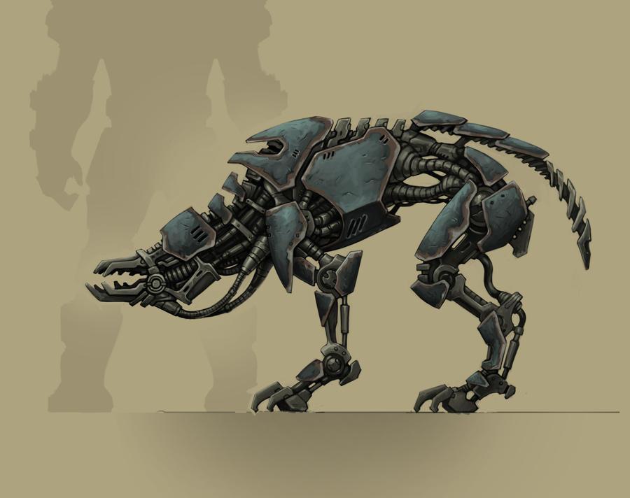 Wolfenstein  Small Robot Dog