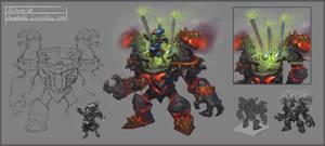 Alchemist Goblin by KhezuG