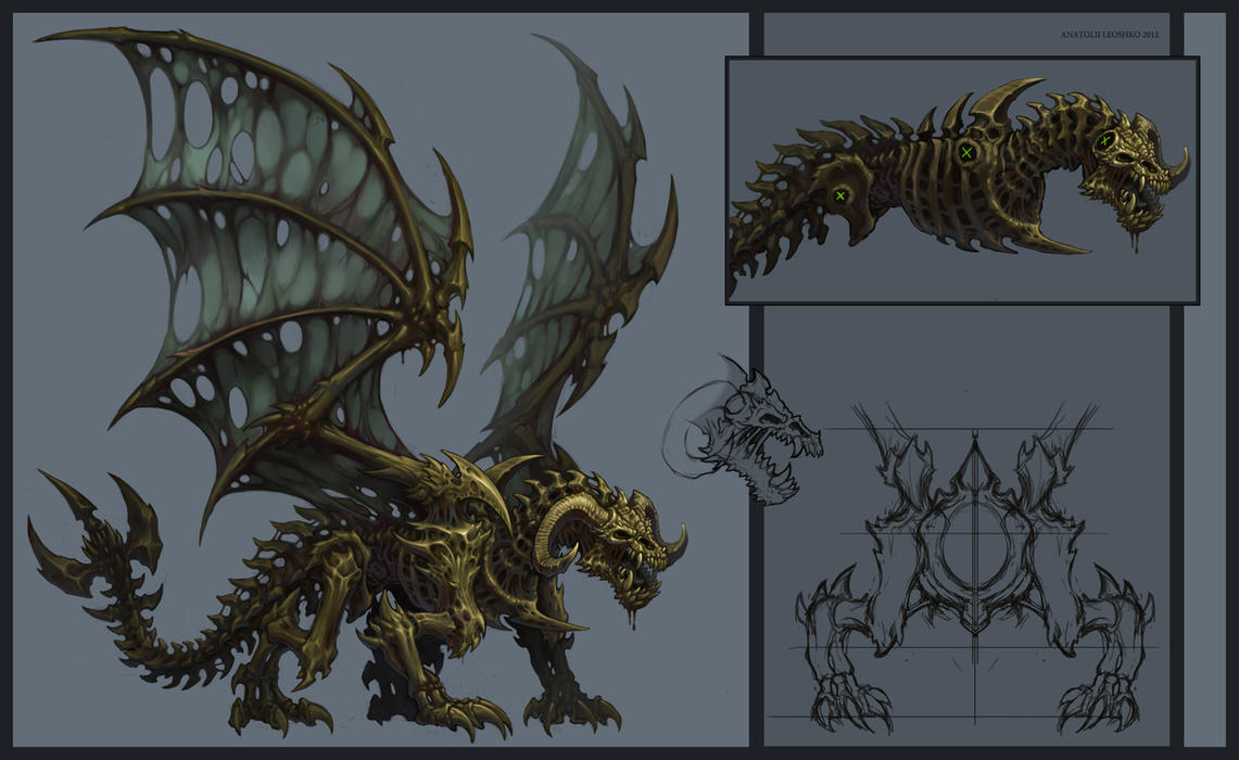 dark zen dragon undead - photo #22