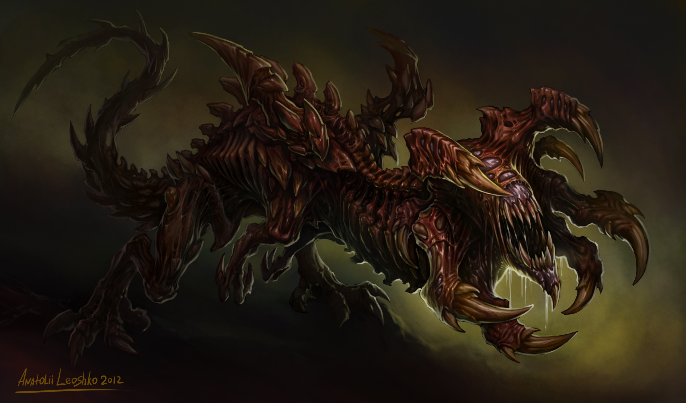 Distorted Dragon by KhezuG