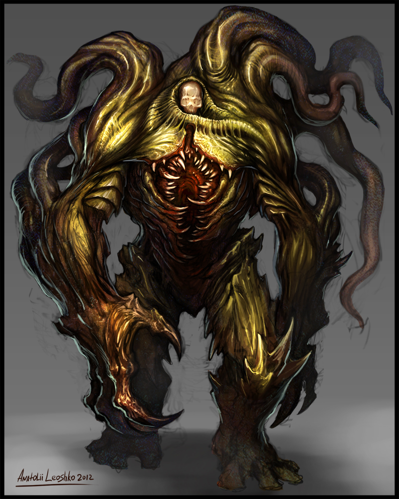 swamp monster by KhezuG