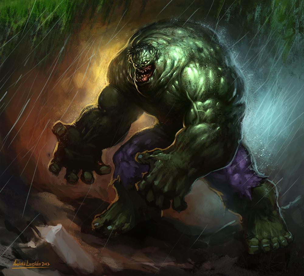 Ugly Hulk by KhezuG