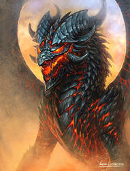 Desert dragon by KhezuG