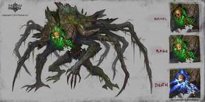 demon stomp by KhezuG