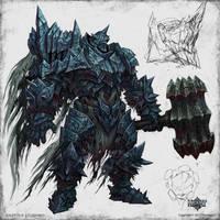 Iron golem by KhezuG