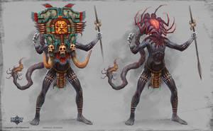 Giant Shaman by KhezuG