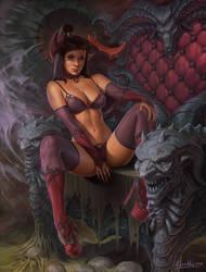 Bapfomets throne