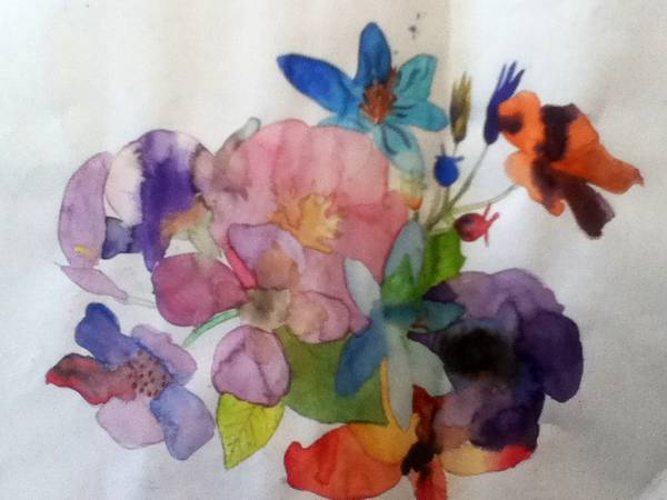 Flowers by beatlegirl9