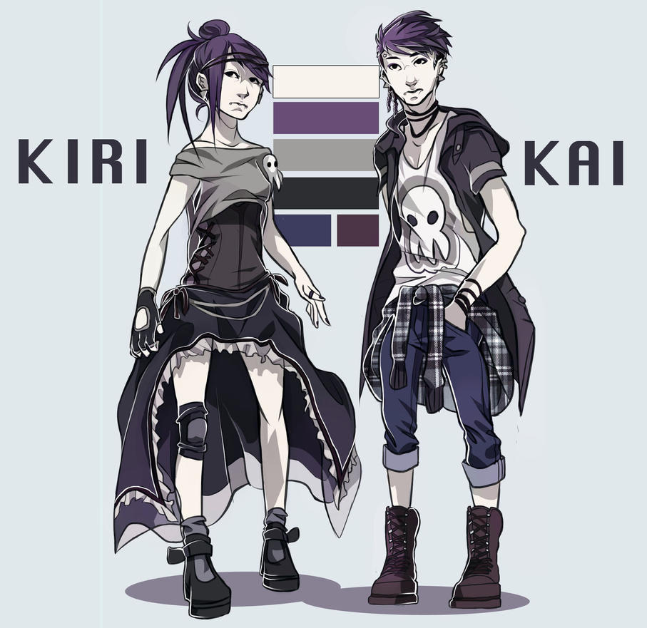 Kiri and Kai by renkaz