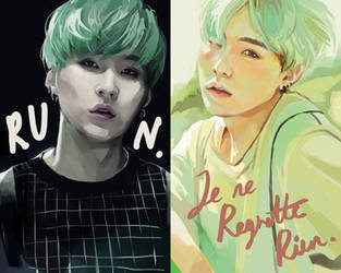 SUGA:: The Most Beautiful Moment In Life Pt.2 by renkarts
