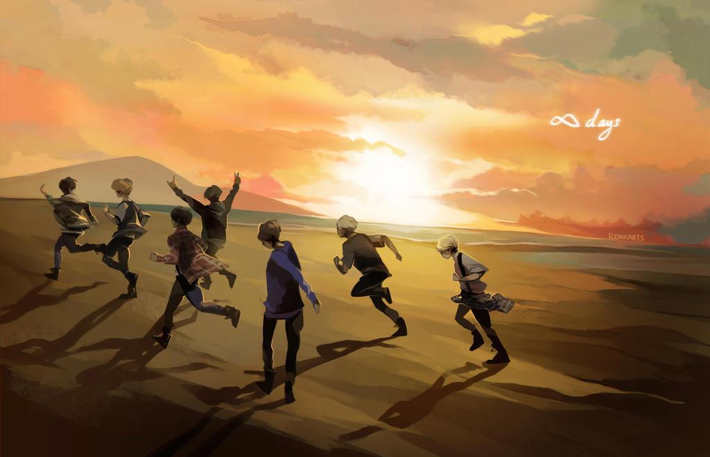 BTS: Infinite Days by renkarts