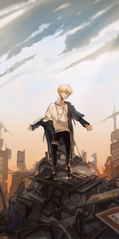 Bow to the King, the Martyr, the Sinner #AGUSTD