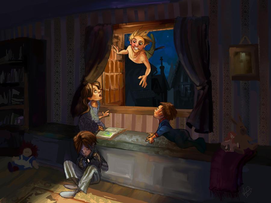 Peter Pan by jbsdesigns