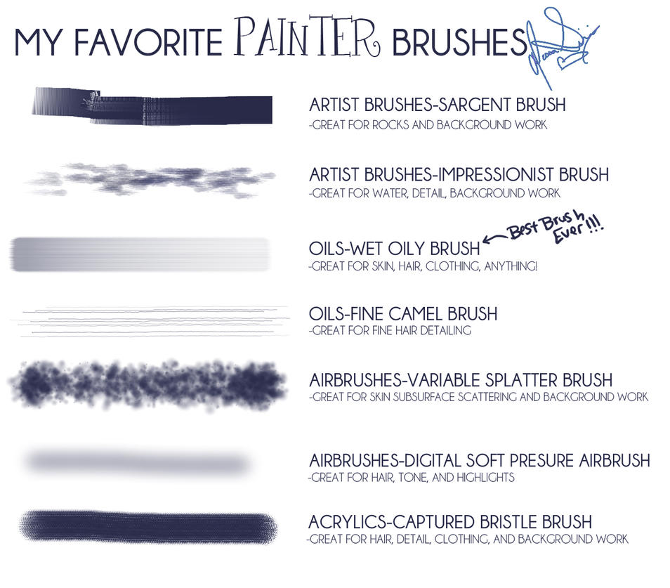 Brushes by jbsdesigns