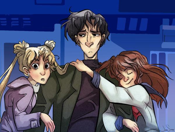 Sailor Moon Screencap Redraw2 by jbsdesigns
