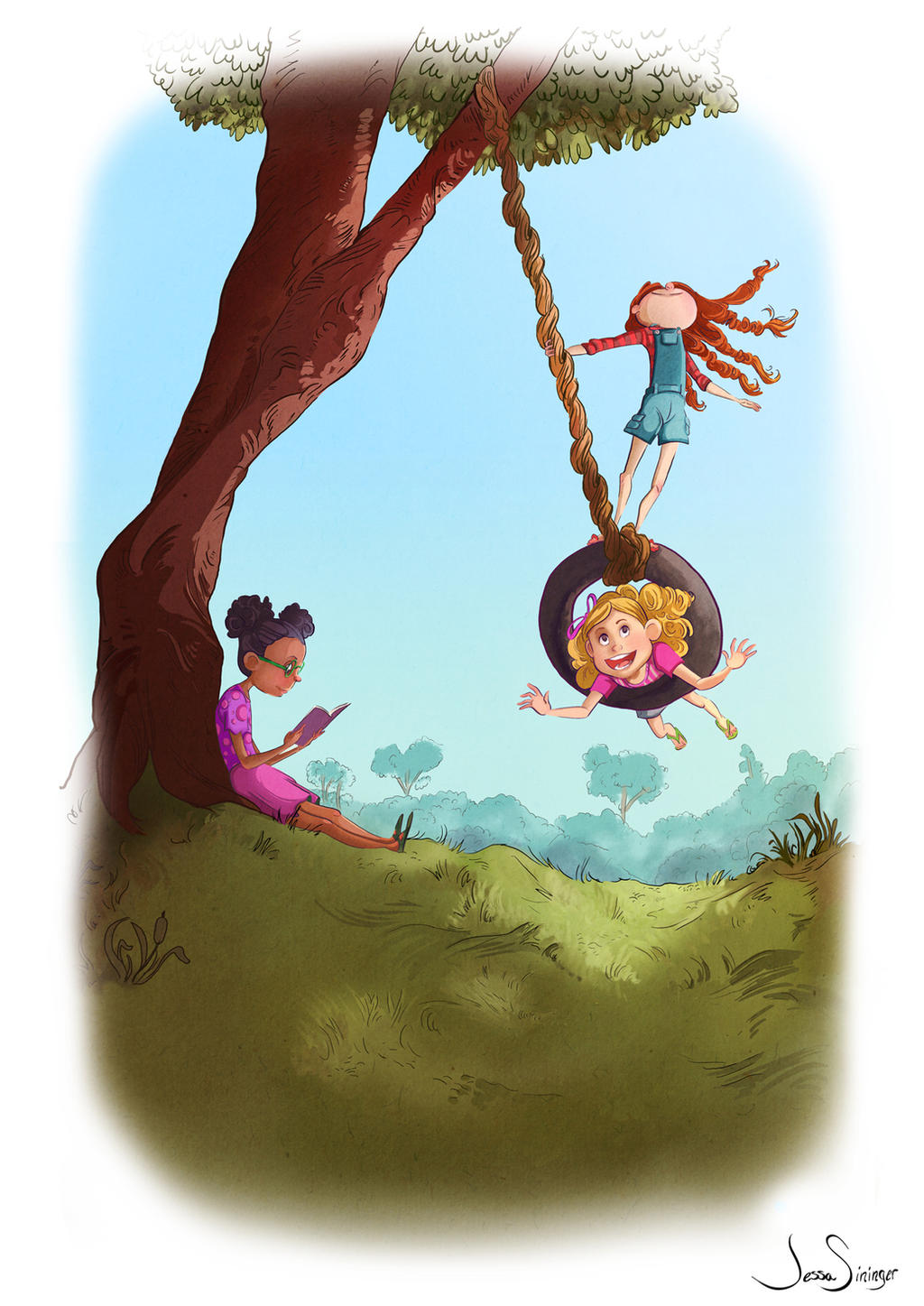 The Tire Swing by jbsdesigns