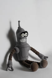 Bender plushie