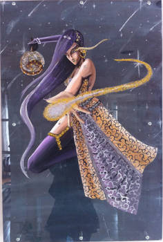 Star Mage 3D Painting