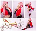 Kimono Megurine Luka Compilation by Sayla Cosplay