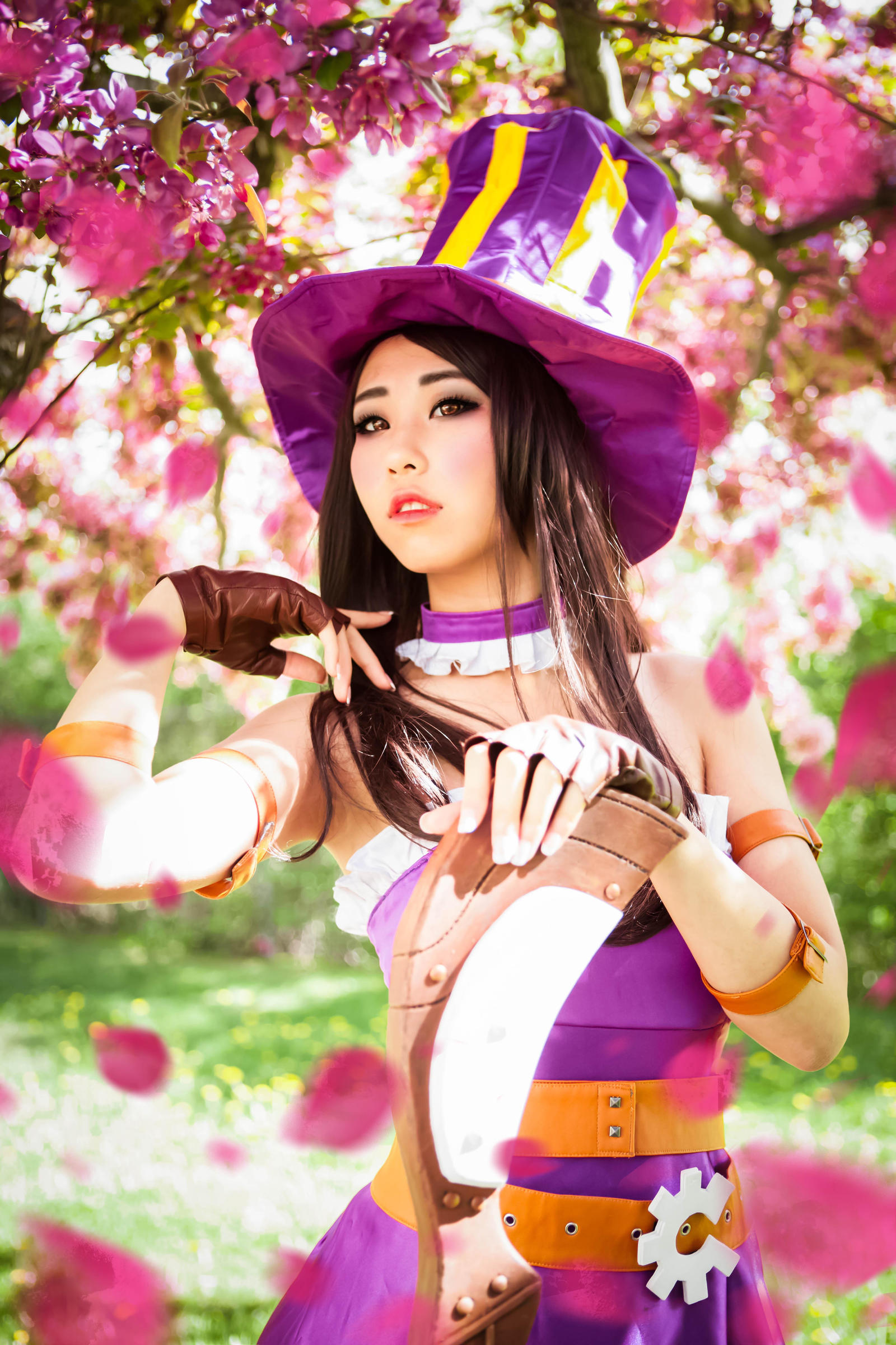 Caitlyn league of legends cosplay