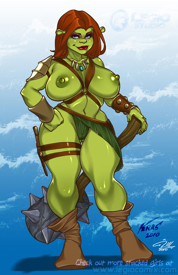Fiona nackt shrek Shrek Fiona