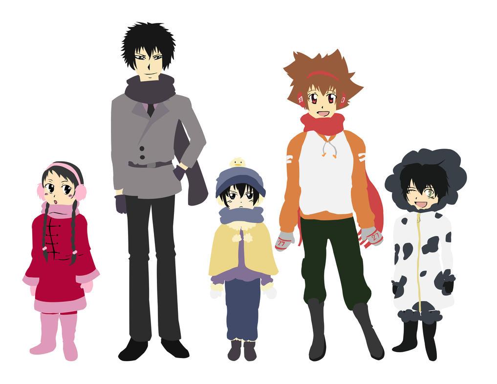 All 5 by AoI-AkUmI
