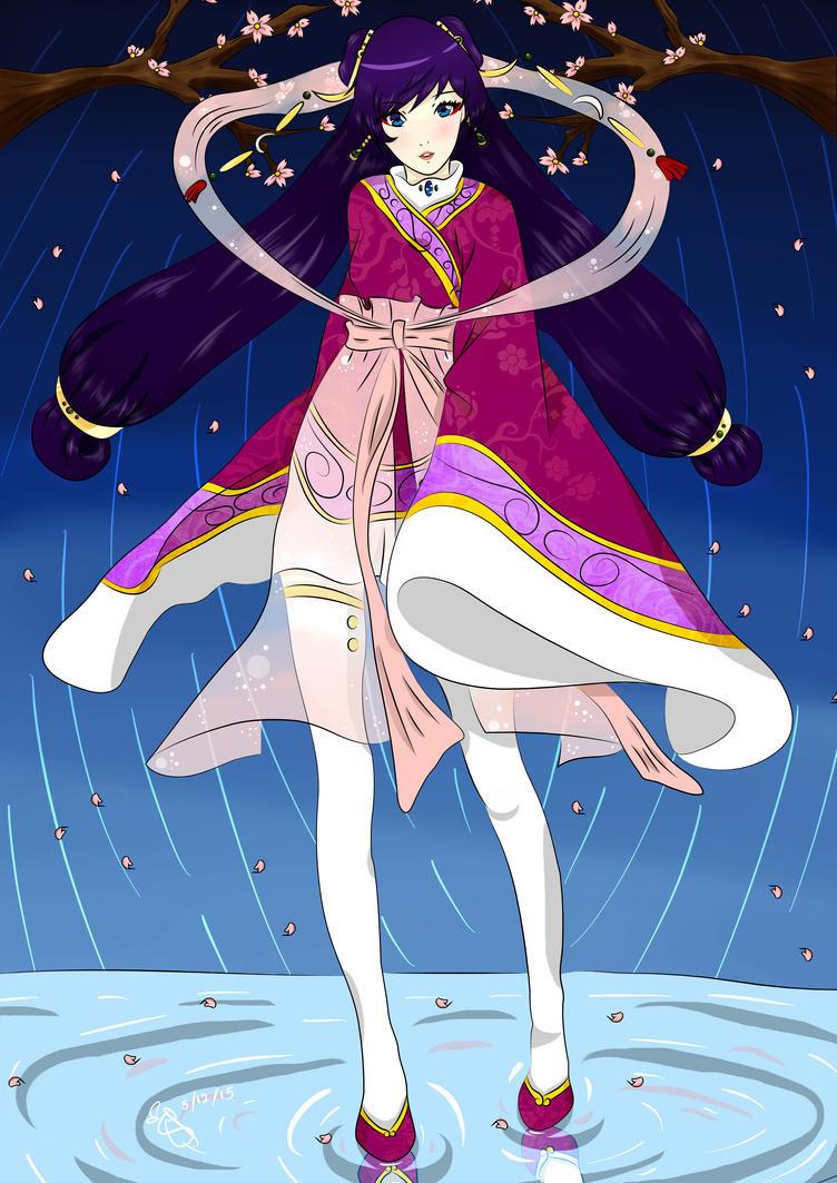 The Celestial Maiden by AoI-AkUmI